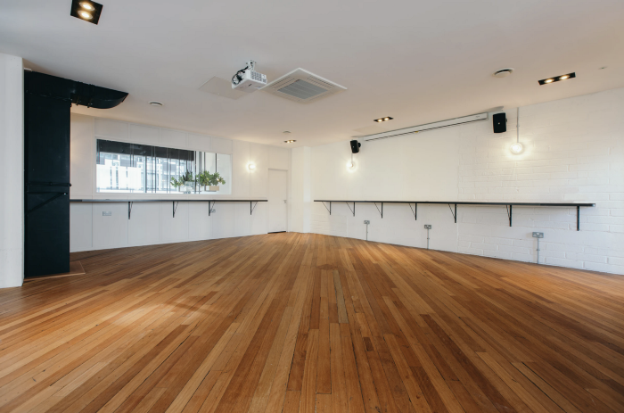 Gallery event space